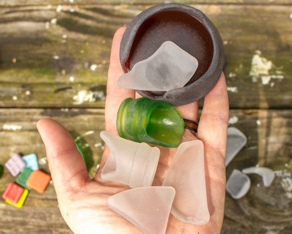 Make Sea Glass in a Rock Tumbler - It