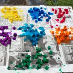 Ways to Embellish Wood: DIY Magnetic Mosaic Kit