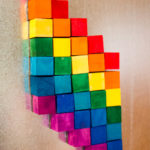 Wood Stain: DIY Magnetic Mosaic Kit