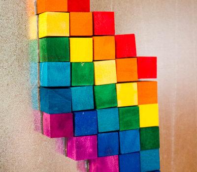 Wood Stain: DIY Magnetic Mosaic Kit