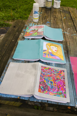 DIY School Supplies: How to Embellish a Composition Book