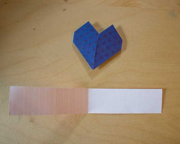 How to Make Origami Hearts (1 of 6)