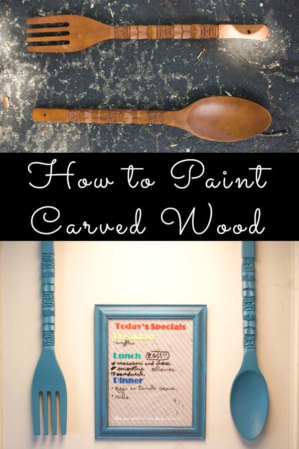 Here's how to paint carved wood, so you'll get lasting, professional-looking results.