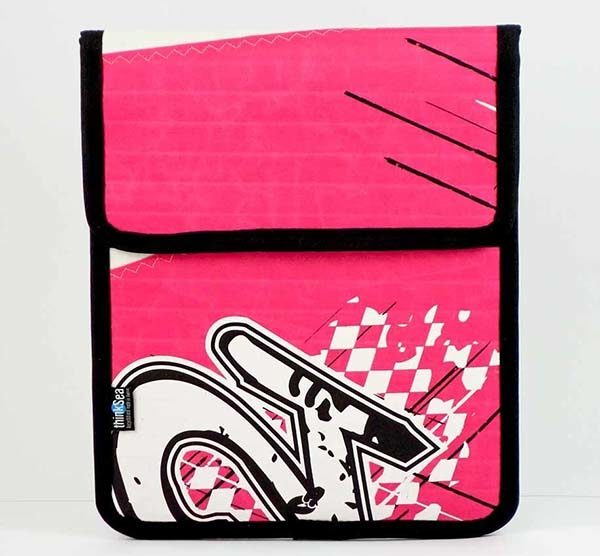 recycled kite ipad sleeve