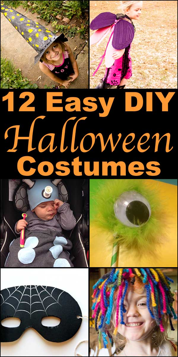 If you're planning to make your costume this year, check out some of these fun, DIY Halloween costume ideas!