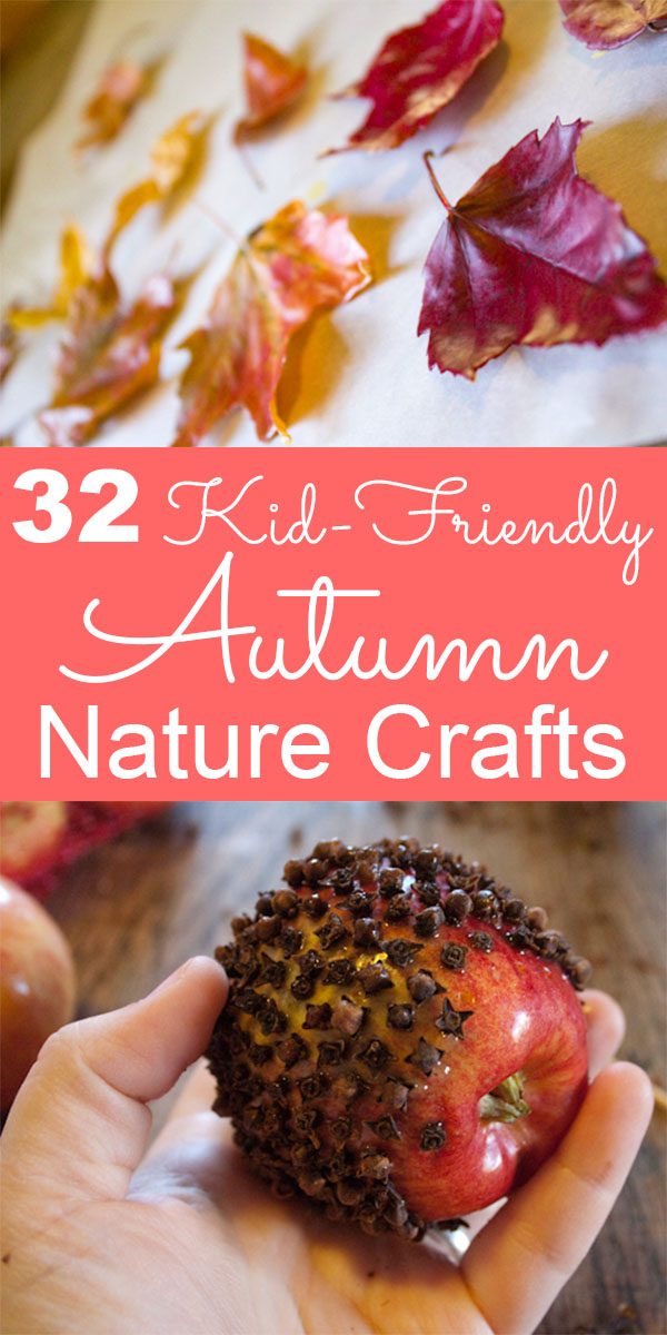 Nature's bounty is always extra generous in the fall. Make the most of it with these kid-friendly nature crafts for autumn!