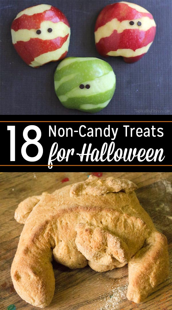 If you're looking to add a little variety to a class party or trick-or-treat night, check out this list of non-candy Halloween treats that are still homemade, super fun and SUPER special.