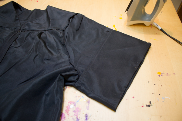 Make a Hogwarts Robe from a Graduation Gown