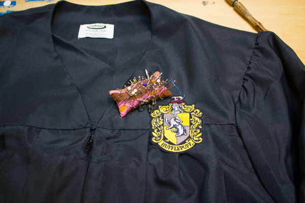 Hogwarts House Robe from a Graduation Gown