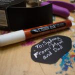 How to Make Reusable Chalkboard Gift Tags