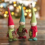 Pinecone Crafts: Elves by Lia Griffith