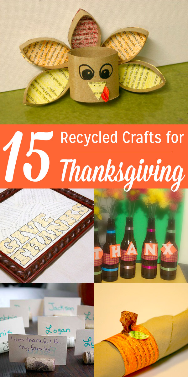 Save Some Cash And Reduce Your Impact This Thanksgiving With These Recycled Crafts