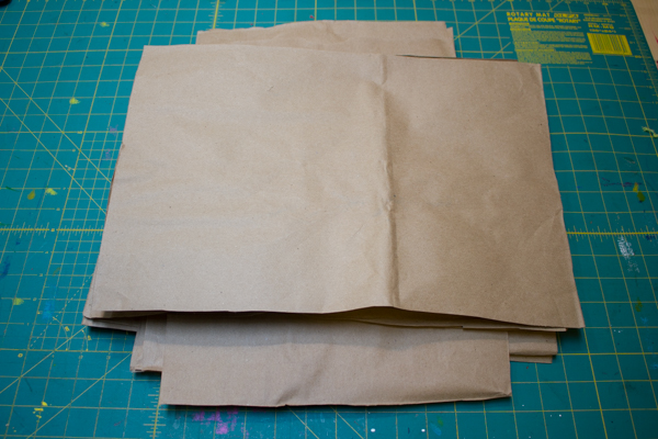 How to Make a Brown Paper Bag Journal