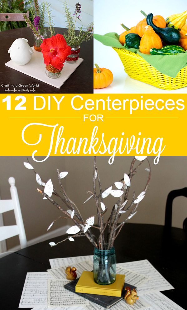 Are you making DIY Thanksgiving decorations? We've got ideas for DIY Thanksgiving centerpieces to fit any tablescape.