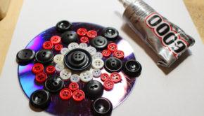 Upcycled CD Mandala