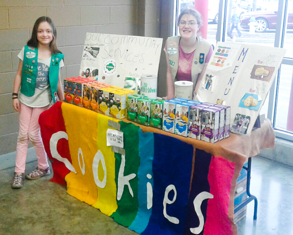 How to Make a Display Board from Girl Scout Cookie Cases