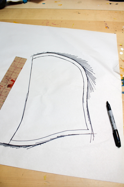 How to Add a Hood to a T-shirt Pattern