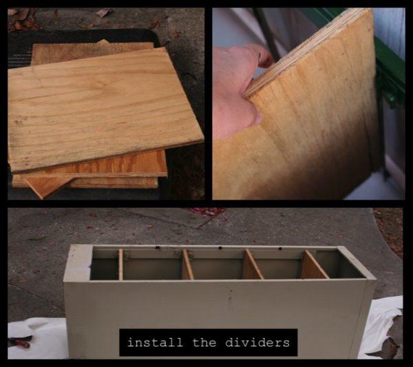 DIY Garden Storage