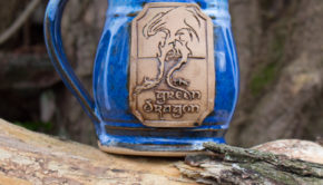 Green Dragon Mug from Functional Mud