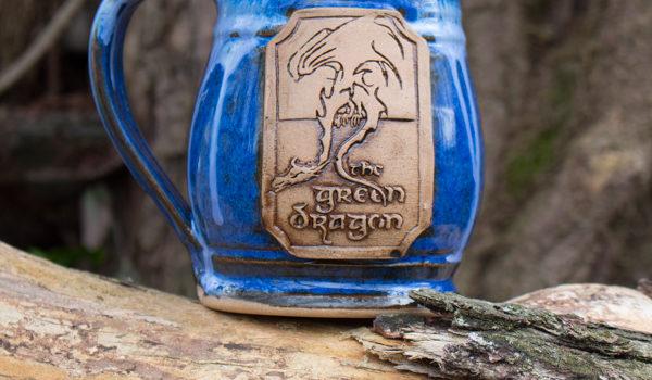 Green Dragon Mug from Functional Mud