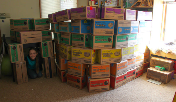 Ways to Re-Use Girl Scout Cookie Cases