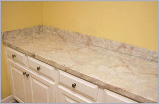 Genial Try This Cool Technique To Make Laminate Countertops Look Like Granite, So  You Can Have