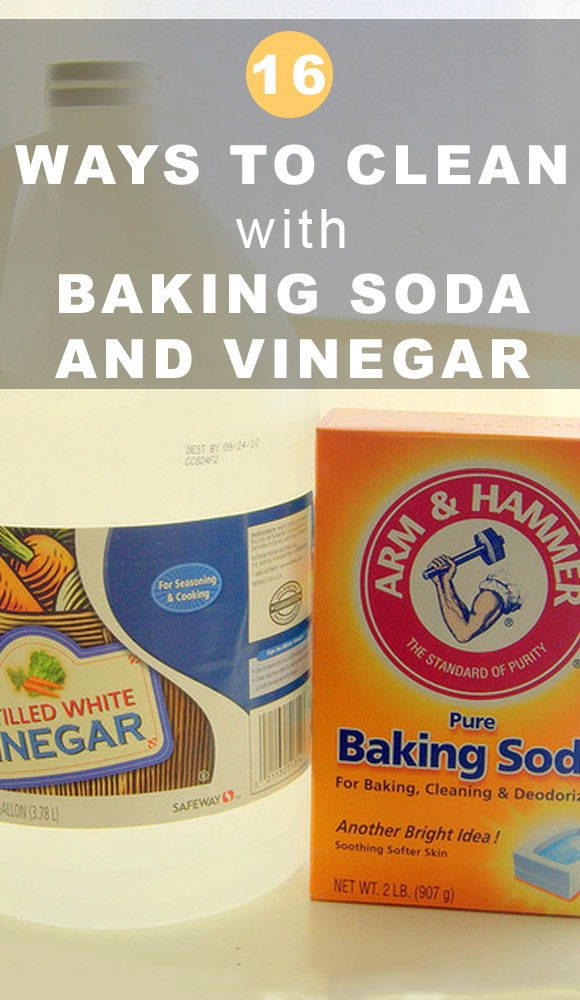 Cleaning with baking soda and vinegar is nothing new, but there are just so many ways to use these two kitchen ingredients. Here are a ton of ideas for how to clean with baking soda and vinegar.