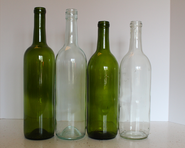 How to Make a Wine Bottle Cloche