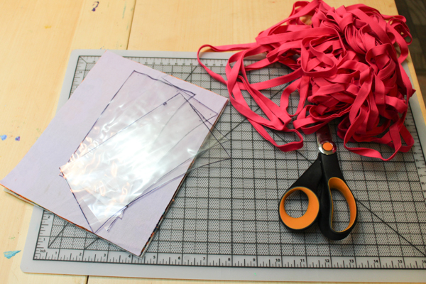 materials for homemade passport