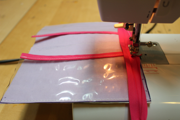 passport holder on sewing machine