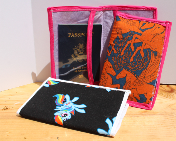 handmade passport holder