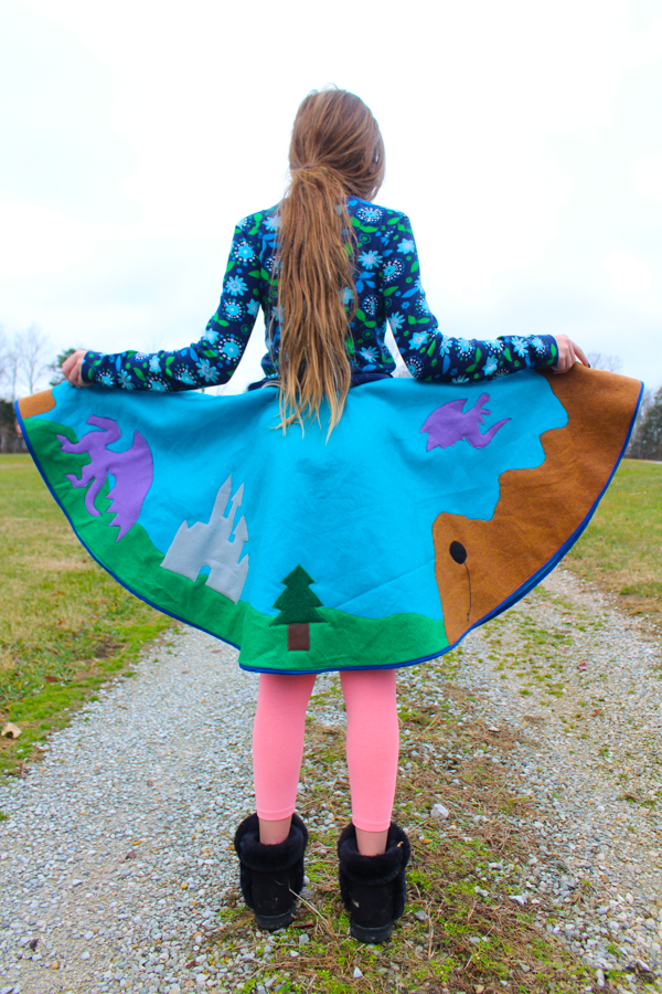 How To Sew A Poodle Skirt Crafting A Green World