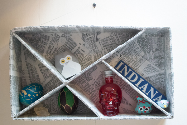 How to Make a Shadow Box from Corrugated Cardboard