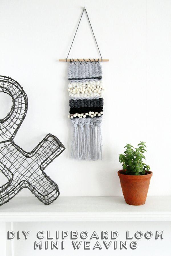 clipboard loom weave