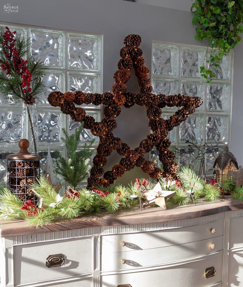 star pine cone