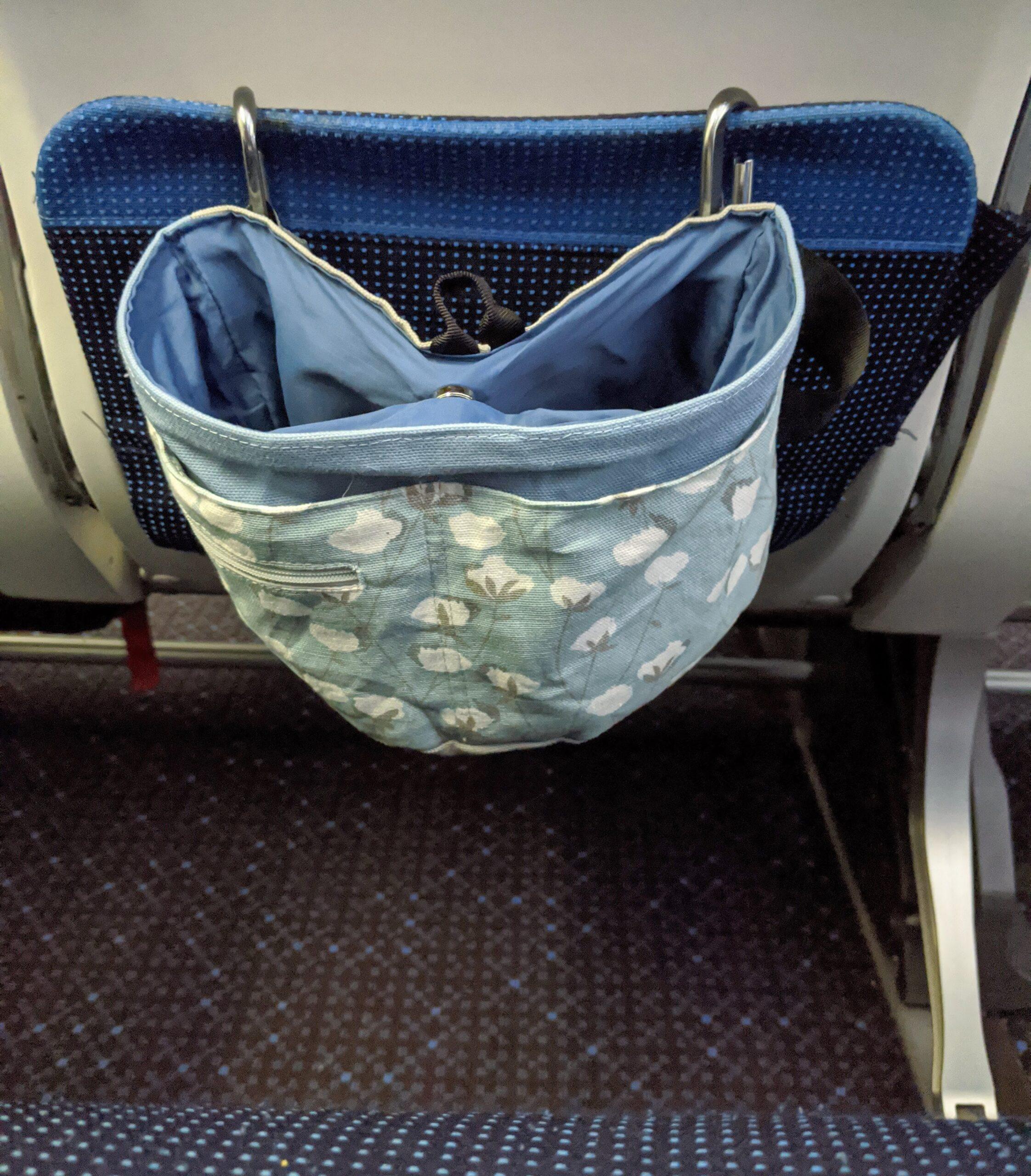 airplane bag caddy