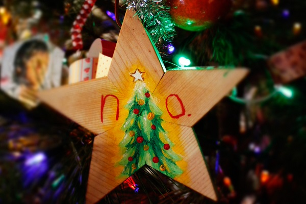 wood star template