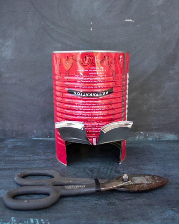 DIY Tin Can Stove
