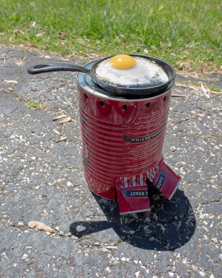 DIY Coffee Can Stove