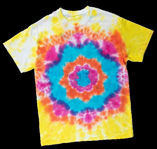 Mandala Tie-Dye via Tie Dye Your Summer