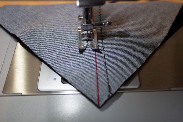 Half-Square Triangle Quilt Block