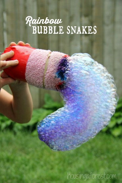 Bubble Snake image via Housing a Forest