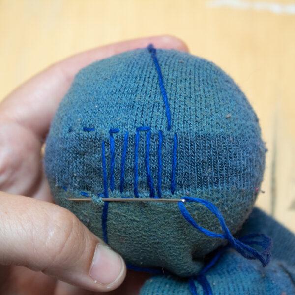 Stitch Warp Threads