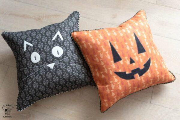 Halloween Pillows from Polkadot Chair